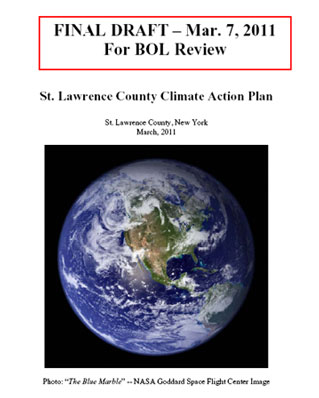The Climate Action Plan for St. Lawrence County