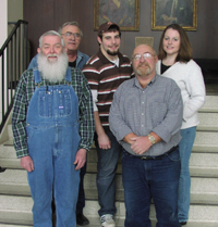 Classic Country: Carter Houk, Robert Powers, Josh Kirkpatrick, Ron Kirkpatrick and Valerie Kirkpatrick