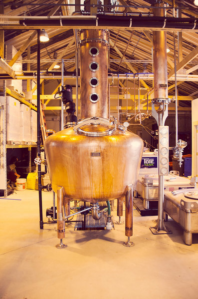 "Clayton Distillery in the Thousand Islands is part of the locavore distillery trend -- it produces distilled products from locally grown grains and fruits. Photo courtesy <a href=""http://claytondistillery.com/"">Clayton Distillery</a>"