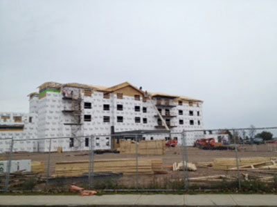 The 1000 Islands Harbor Hotel in Clayton is slated to open in spring, 2014. Photo: Catherine Loper
