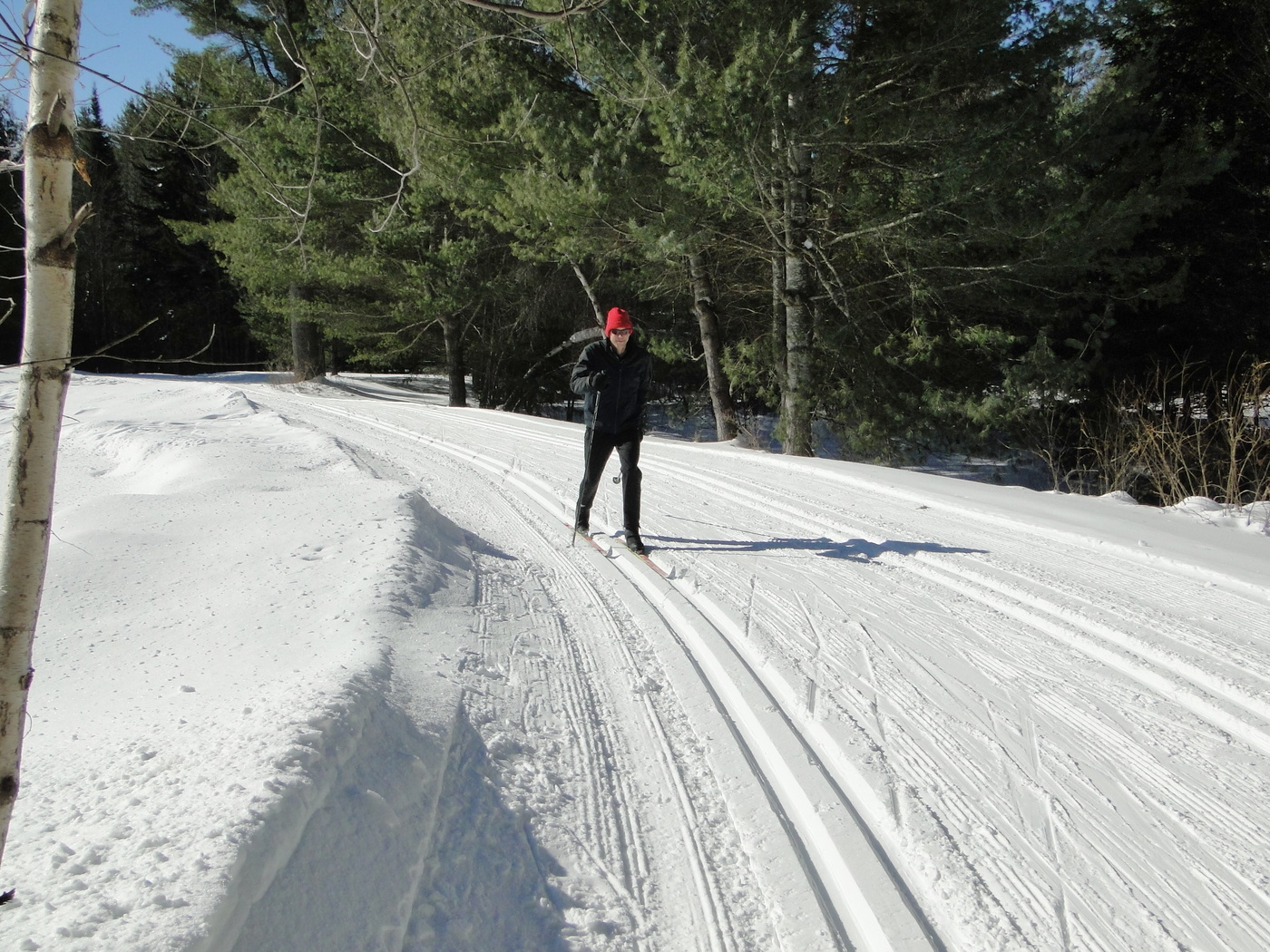 north country at work: running a nordic ski center in snowy benson