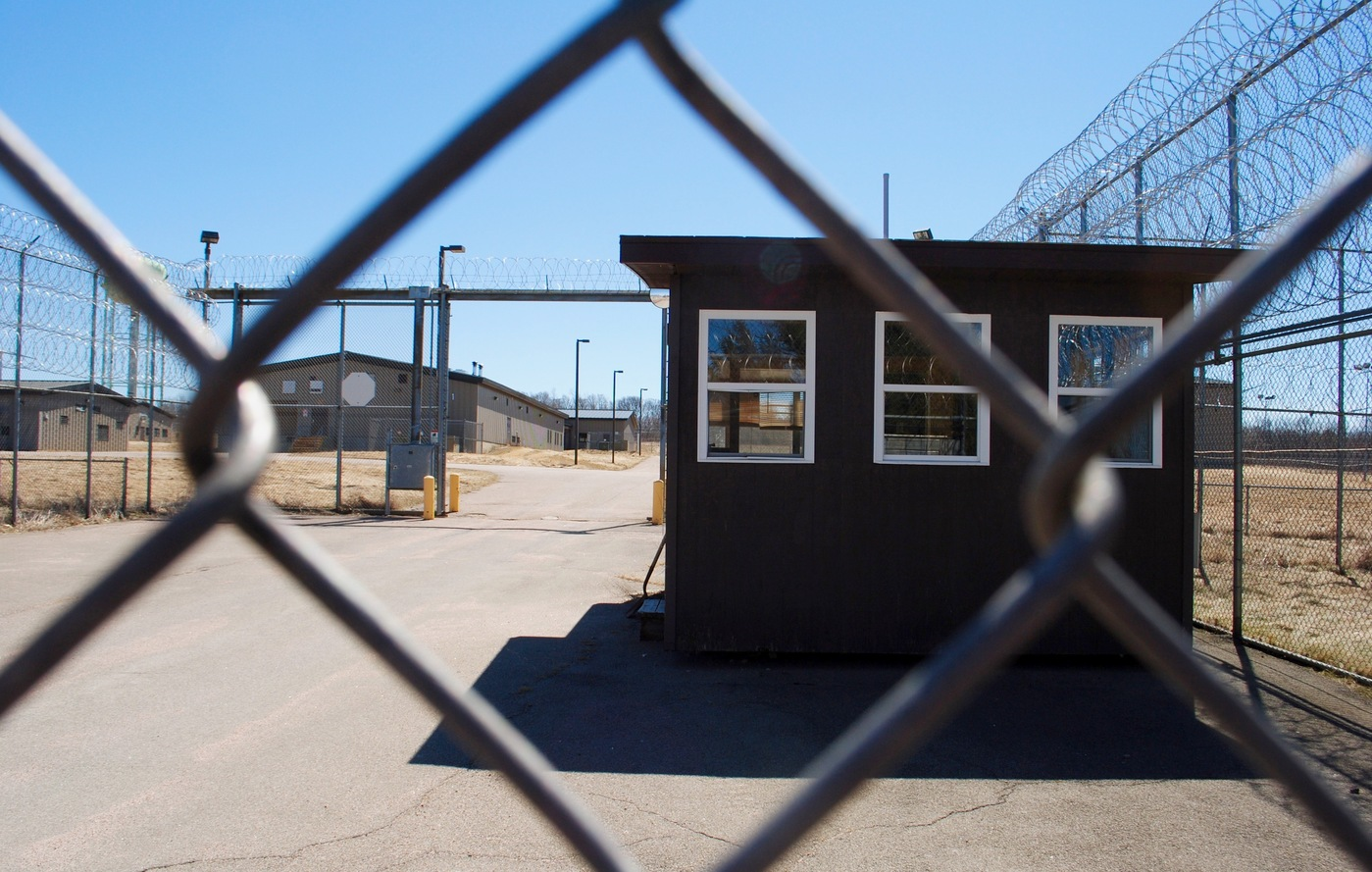 What happens to a prison town after its prison closes