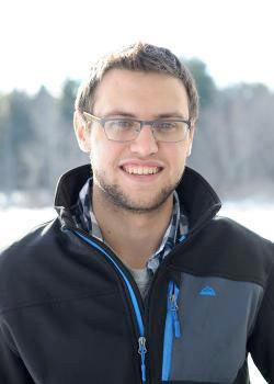 SLU junior David Smith is an Environmental Studies major and organizer of NC350.