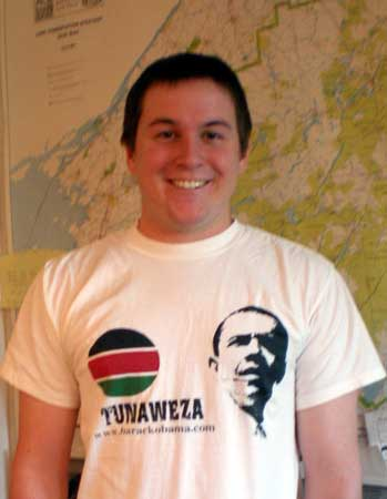"Drew Pynchon. Tunaweza - in Kenya, it means ""we can."""