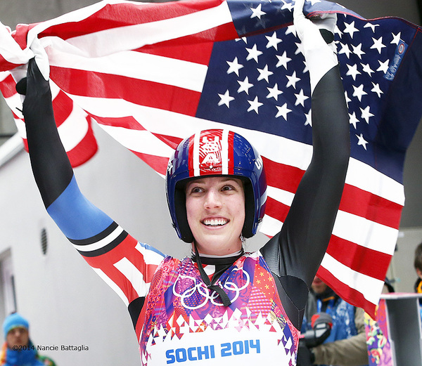 Erin Hamlin named USA's flag bearer for Winter Olympics