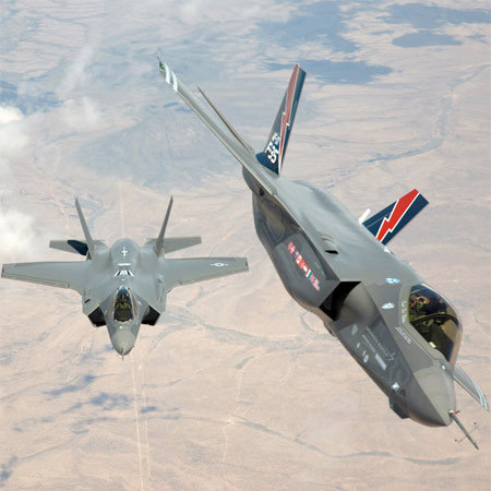 F-35A fighters. Photo: U.S. Air Force