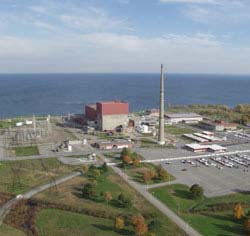 Oswego County wants more nuclear power plants like this one on the shore of Lake Ontario (Source:  Wikipedia)