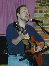 Gary Moon at Cafe Lena in Saratoga Springs