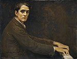"Swan's ""Joaquin Nin-Culmell, composer"" - from the collection of Benjamin Franklin V, South Carolina."