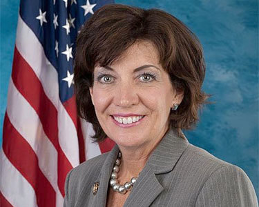 Former Rep. Kathy Hochul will be Gov. Cuomo's 2014 running mate. Photo: US House of Representatives
