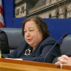 NY Sen. Liz Krueger, shown here at a public forum, sponsored the legislation. Photo: NYS Senate