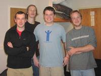 Dave Southcott, Steve Maxon, Djere Maxon and Thomas Maxon.