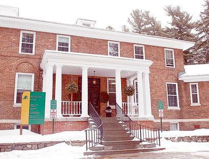 "Hodson Hall, which houses North Country Community College's administration and several classrooms, in Saranac Lake. Photo: Chris Morris via <a href=""http://www.adirondackdailyenterprise.com/"">Adirondack Daily Enterprise</a>"
