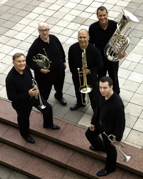 The New York Philharmonic Principal Brass Quintet concert is Sunday at 7:30 p.m. at Hosmer Hall.