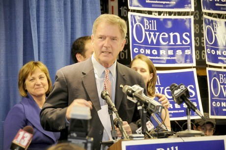 "Rep. Bill Owens was a key vote for Obamacare and calls efforts to dismantle the law ""irresponsible."" NCPR file photo"