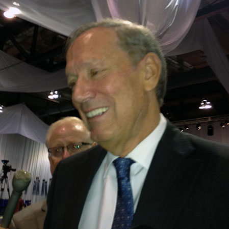 George Pataki at Friday's Republican Convention