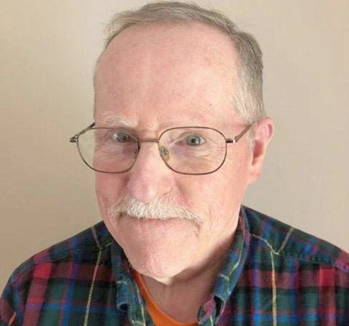 Roland Van Deusen is a retired counselor for veterans who lives in Clayton. Photo provided.