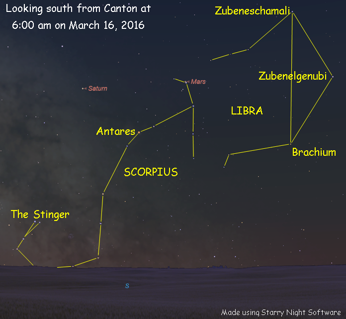 Star Map Software.It S Time To See Jupiter S Moons Ncpr News