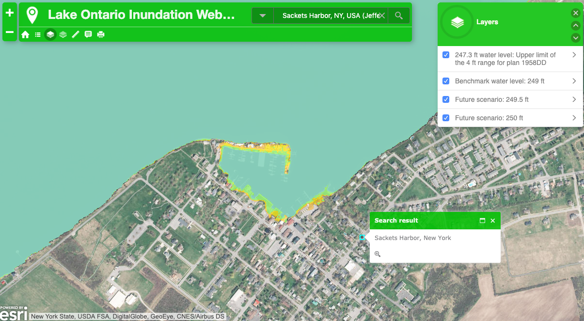 Live on Lake Ontario? There's now a tool to help you plan