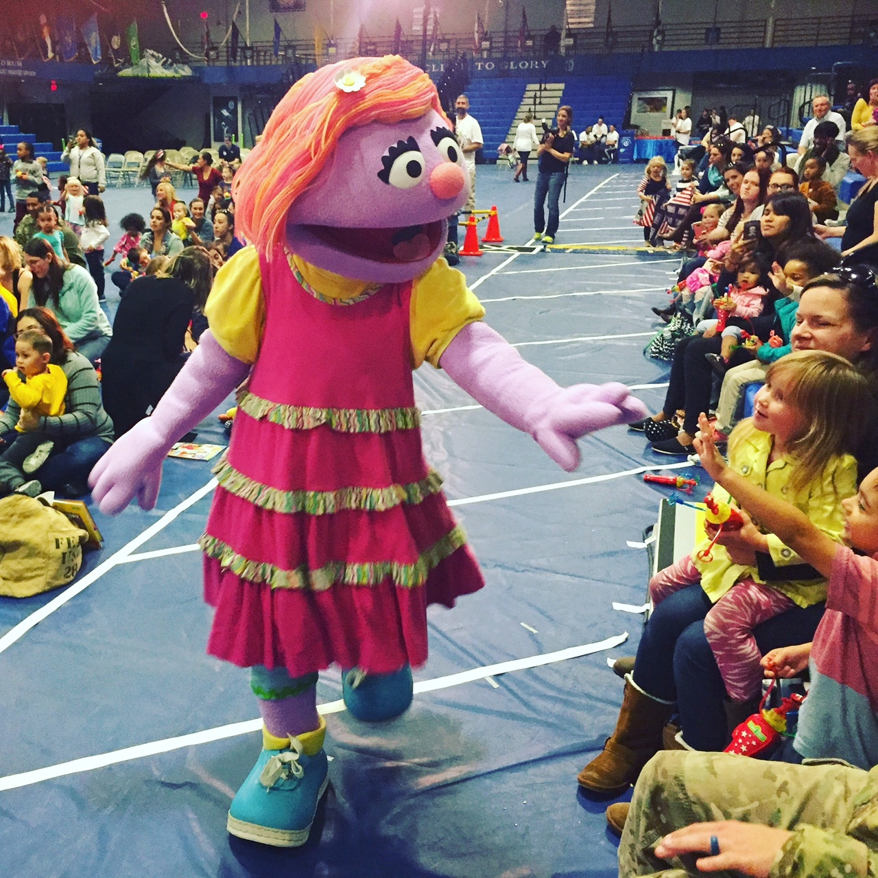 Fort drum children meet sesame streets katie a military kid just katie is a military kid who is sad about an upcoming move photo julia botero m4hsunfo