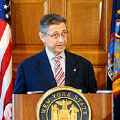 Assembly Speaker Sheldon Silver.