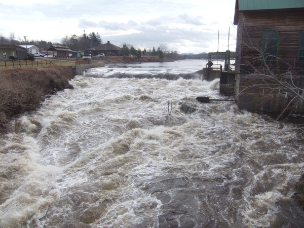 Surging rivers hit roads, damage hydro dam | NCPR News