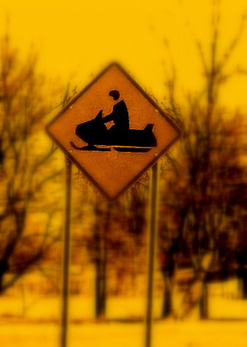 "Snowmobile Crossing. Photo: <a href=""http://www.flickr.com/photos/amsd2dth/3413819666"">amsd2dsh</a>, Creative Commons, some rights reserved"