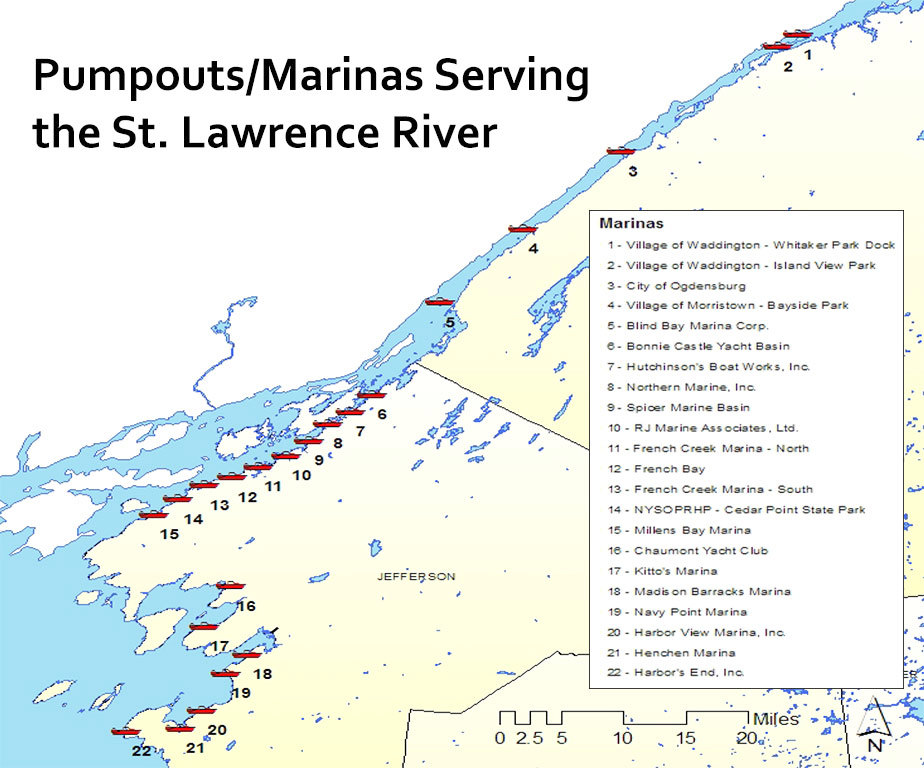 EPA Wants To Ban Boat Sewage Dumping In The St Lawrence River - St lawrence river on us map