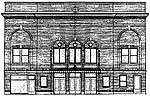 The Strand Theatre's original architectural drawing (circa 1924)