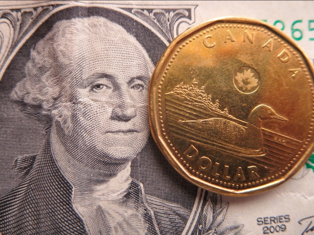Compared To A U S Greenback The Canadian Dollar Is Curly Worth About 20 Cents Less Photo Lucy Martin