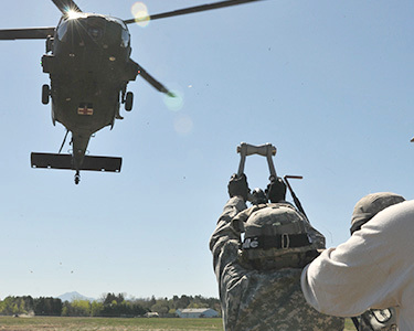 "Vermont National Guard training exercise at Camp Johnson in 2013. Photo: <a href=""https://www.flickr.com/photos/soldiersmediacenter/8717689692/"">U.S. Army</a>, Creative Commons, some rights reserved"