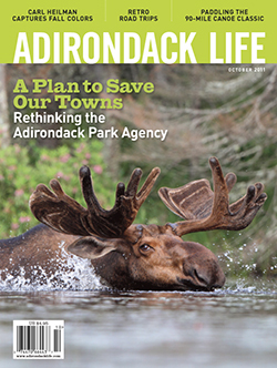 Brian Mann's article appears in the October issue of <em>Adirondack Life</em>