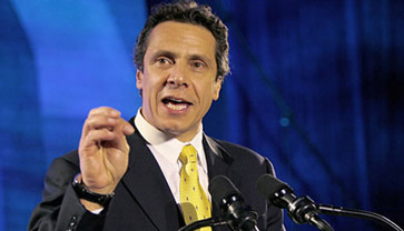 NY Attorney-General Andrew M. Cuomo. Source: campaign website
