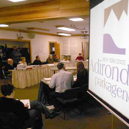 The January APA vote gave the Adirondack Club and Resort projec the green light. Photo: Brian Mann