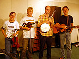 Atlantic Crossing: Viveka Fox, Peter Macfarlane, Brian Perkins and Rick Klein joined us for the August show.