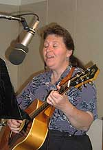 Barb Heller in the NCPR Studio