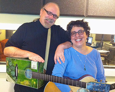 Rick Bates and Mary Ann Casale. Photo: Ellen Rocco