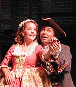 Ramona Gilmour Darling as Polly Peachum, Mark McGrinder as Macheath