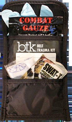 "Belt Trauma Kit. Photo: <a href=""http://www.z-medica.com/"">Z-Medica</a>"