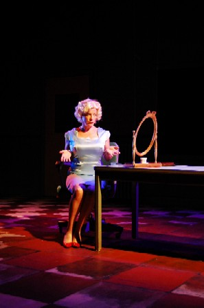 Julie Stewart as the Blonde; photo: Chris Cornish