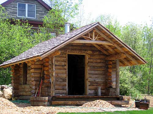 A Pint Sized Log Cabin Ncpr News