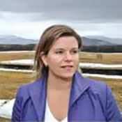 Cali Brooks, director of the Adirondack Community Trust