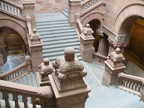 A lot of things will need to come together inside the NYS Capitol to get to an end-of-session deal. Photo: Holley St. Germain, Creative Commons, some rights reserved