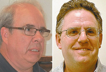Tom Catillaz (left) and Bob Bevilacqua. Photos courtesy <em>Adirondack Daily Enterprise</em>