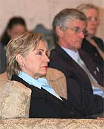 Sen. Clinton and Rep. McHugh in Iraq. Photo by Cpt. Tommy Mitchel, US Army