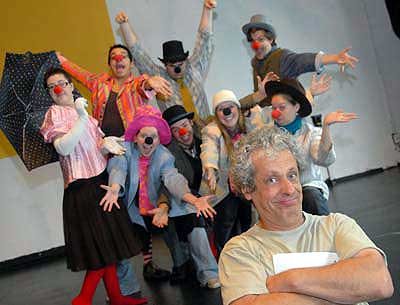 "Miguel Cortazar performs ""The Poor Circus"" Saturday at 2 pm at the Unitarian Universalist Church in Canton"