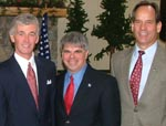 Rep. McHugh, ADK's Woodworth, and Adk Council's Houseal push acid rain bill (Source: Rep. McHugh)