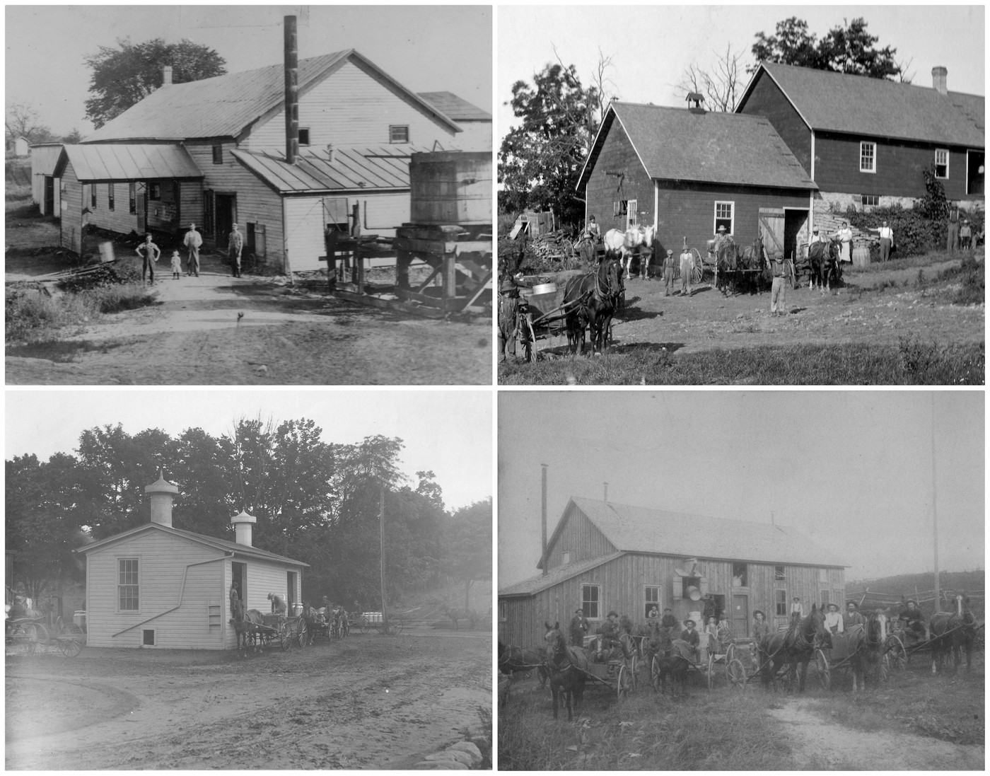 Swell Early Milk Transportation Dairy Plants From The 1800S To Download Free Architecture Designs Aeocymadebymaigaardcom