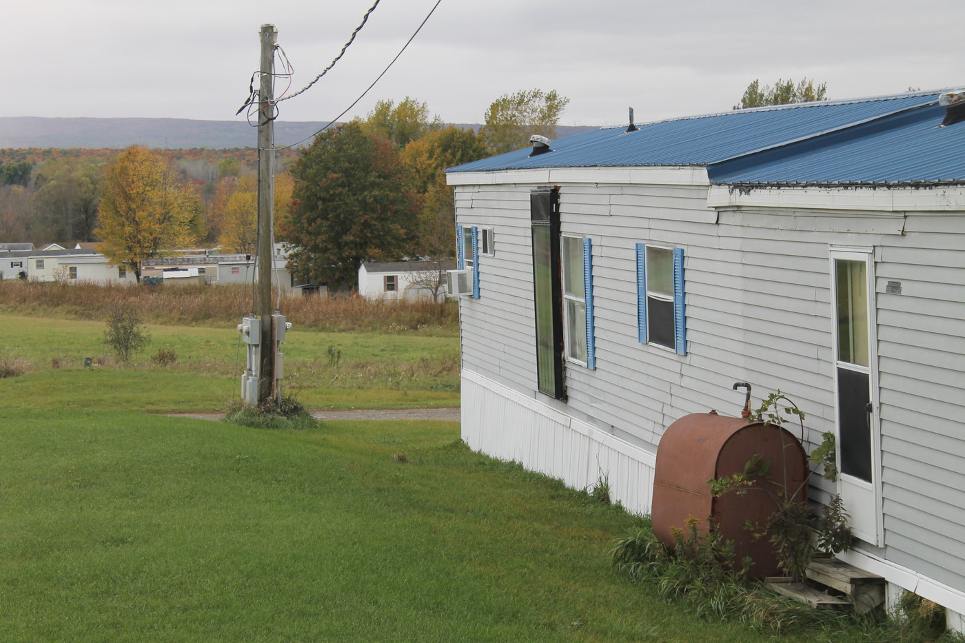 Country Sky Mobile Home Park In The Town Of Plattsburgh Photo Zach Hirsch
