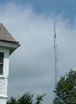 CP Rail Tower In Whallonsburg